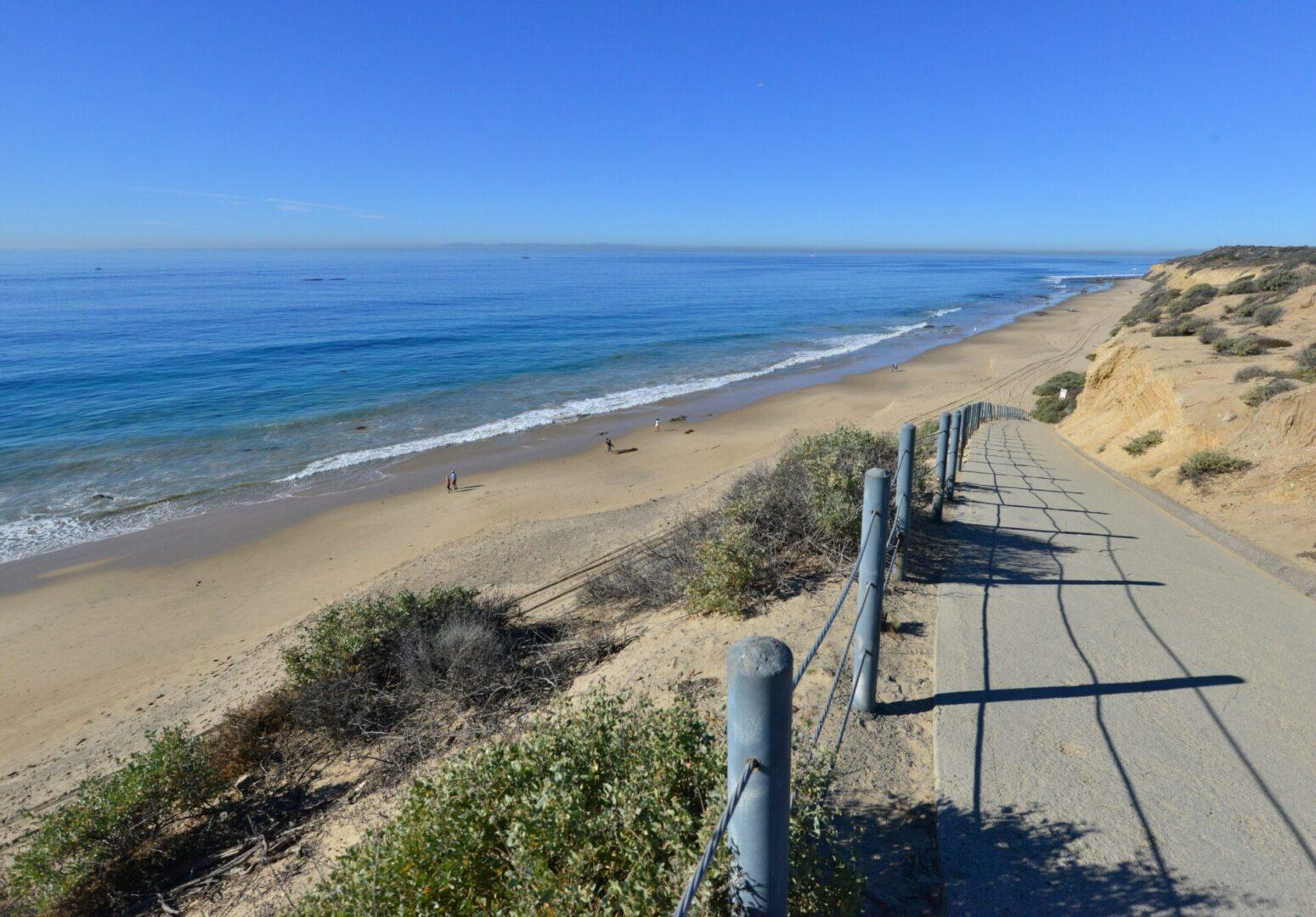 Crystal Cove State Park Beach